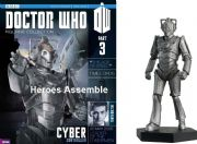 Doctor Who Figurine Collection #003 Cyber Controller Cybermen Eaglemoss